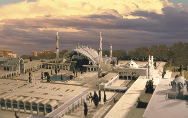 Masjid Tertinggi Di Dunia 3