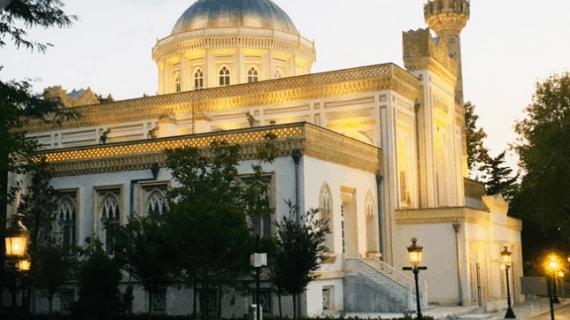Masjid Yıldız Hamidiye dan Menara Jam Yıldız