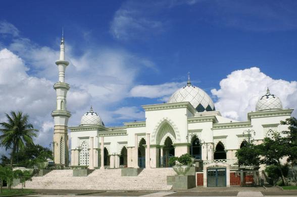 Masjid Paling Indah Di Indonesia 12
