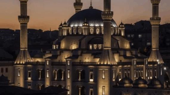 Masjid Kirikkale Nur di Turki