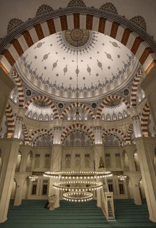 Masjid Kirikkale Nur di Turki 4