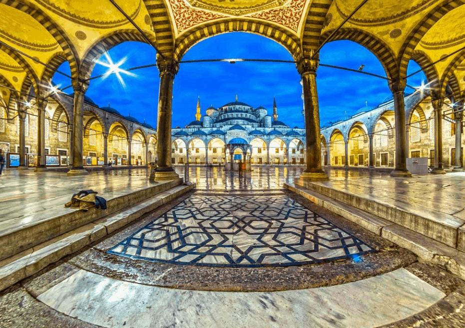 Sejarah Masjid Biru Istanbul 21