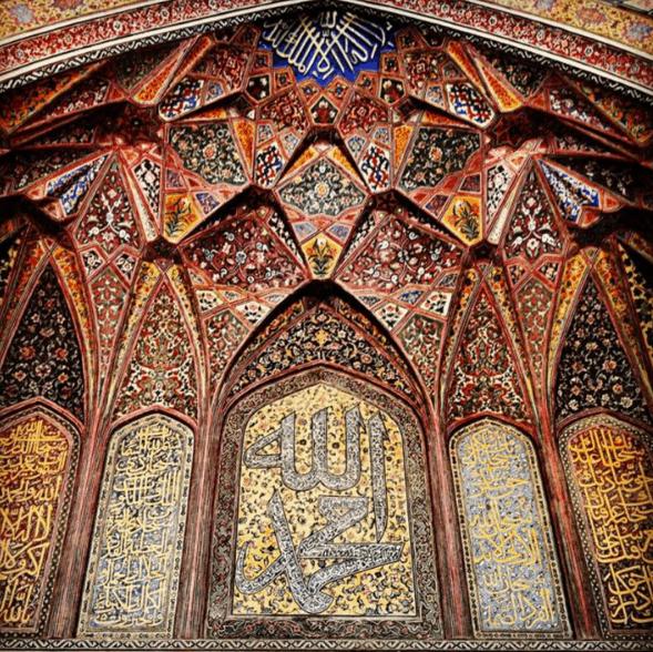 Masjid Wazir Khan di Lahore 18