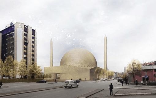 Masjid Agung Prishtina, Kosovo