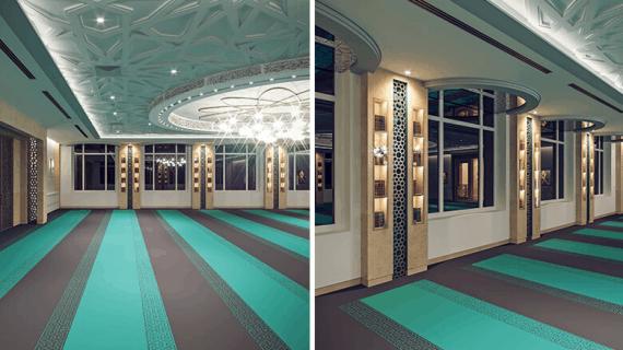 Komponen penting dari desain interior masjid