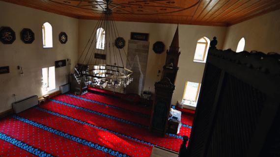 Masjid Sultan Esmahan di Mangalia