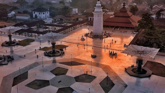 Kemegahan Masjid Agung Banten