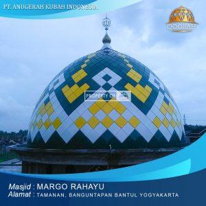 kubah masjid margo rahayu banguntapan bantul yogyakarta