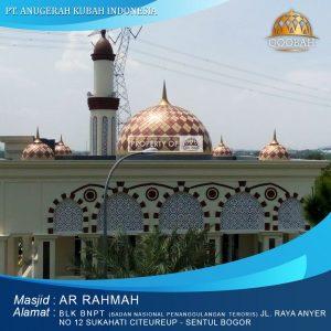 masjid arrahmah blk BNPT citereup sentul bogor