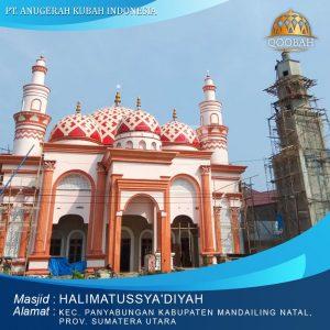 masjid halimatussya'diyah mandailing natal sumatera utara