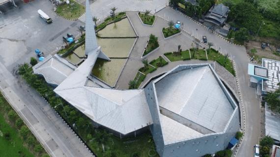 5 Fakta Masjid Al Safar Ridwan Kamil