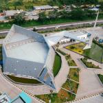 Desain Masjid Al Safar yang Modern dan Futuristik