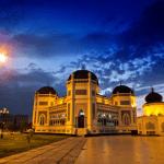 8 Hal Tentang Masjid Al Mashun Medan