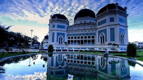 Keaslian Masjid Raya Medan yang Tetap Terjaga