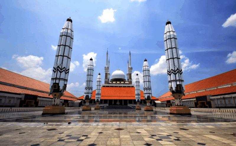 masjid agung di semarang