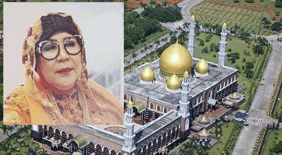 Sang Dermawan Pemilik Masjid Kubah Emas