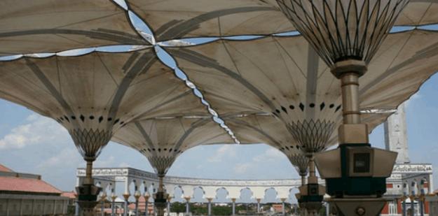 Payung Masjid Agung Semarang