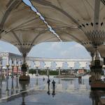 Payung Masjid Agung Semarang Khas Arsitektur Masjid Nabawi