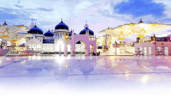 Masjid Raya Baiturrahman Sebuah Miniatur Kemegahan Masjid Nabawi