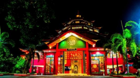 Arsitektur Unik Masjid Cheng Ho Pandaan
