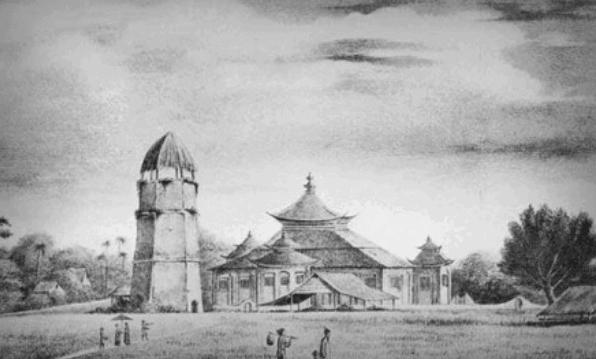 Arsitektur Masjid Agung Palembang