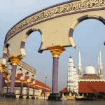 Masjid Agung Semarang Bangunan Megah Di Pusat Kota
