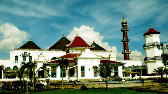 Mengenal Masjid Agung Palembang Tempo Dulu