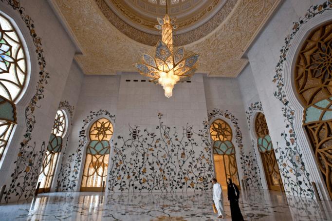 interior masjid terindah di dunia