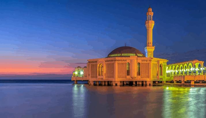 pemandangan masjid terindah