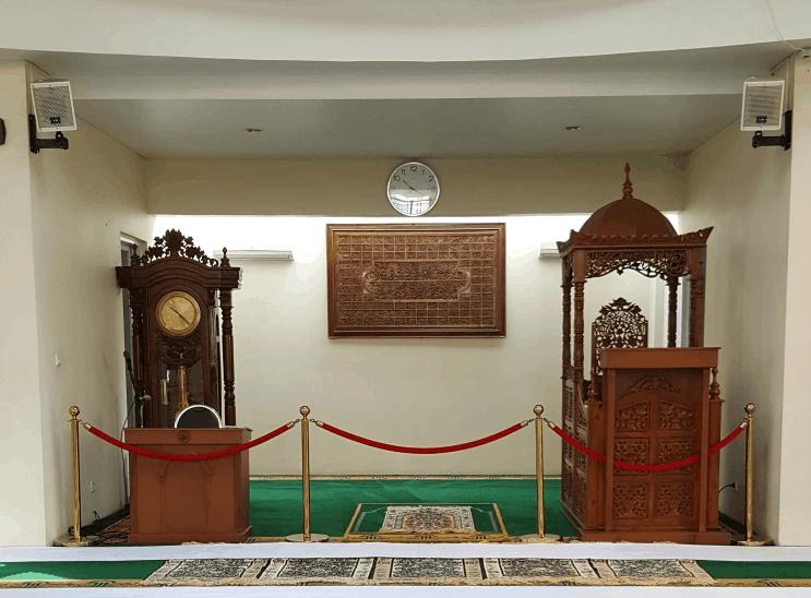 mihrab masjid modern