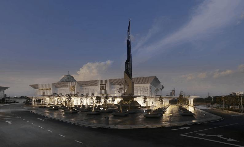 masjid modern di dunia