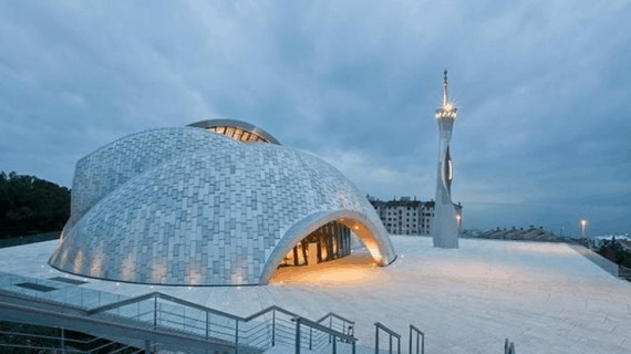 5 Ciri-Ciri Masjid Modern