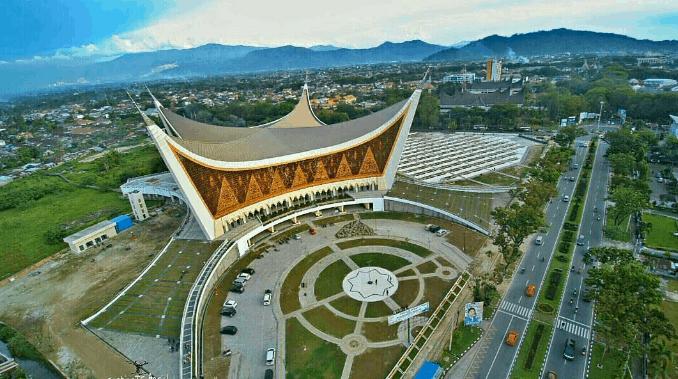 ciri-ciri masjid modern
