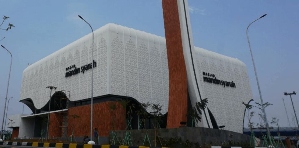 Warna cat masjid modern