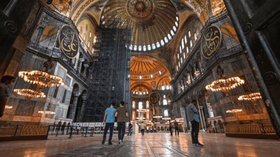 10 Fakta Menarik Hagia Sophia